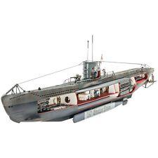 Revell 1/125 German Submarine U-47 w/Interior Plastic Model Kit 05060 RVL05060