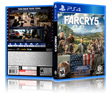 Far Cry 5 - Replacement PS4 Cover and Case. NO GAME!!