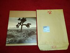 U2  The Joshua Tree 1987 Official vintage concert tour programme complete RARE