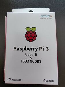 ***NEW Raspberry Pi 3 Model B & FREE 16GB MicroSD Card! FREE DELIVERY!