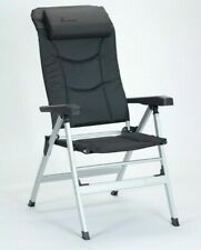 Isabella Thor Folding Reclining Camping Chair Dark Grey 2019  TRUSTED SELLER