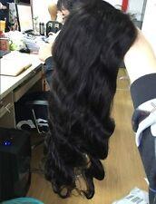 Full Lace Perücke Schwarz oder blond, 60cm