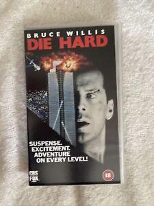 Die Hard - CBS FOX VHS - BRUCE WILLIS