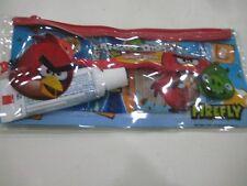 ANGRY BIRDS FIREFLY DENTAL TRAVEL KIT 4 PC (Red Brush)