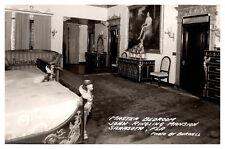 Vintage Postcard Master Bedroom, John Ringling Mansion, Sarasota, Florida S54