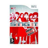 GIOCO NINTENDO WII DISNEY SING IT- HIGH SCHOOL MUSICAL 3 EDIZIONE REGNO UNITO 87