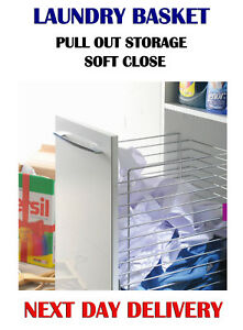 SOFT CLOSE, PULL OUT STORAGE , LAUNDRY BASKET, KITCHEN 400 mm  W-2316 L