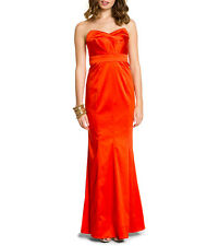 Phoebe by Kay Unger Orange  Gown Dress  Full Length beautiful Size 0