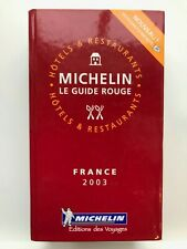 Guide Michelin France 2003