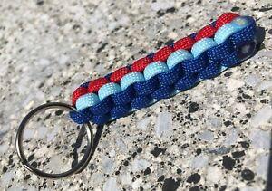 BMW Style Colours M Sport Keyring Key Tag M1 M2 M3 M4 M5 M6 E46 key ring