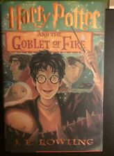 Harry Potter And The Goblet Of Fire J.K. Rowling First American Edition