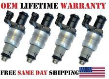 """4/Set OEM Siemens Fuel Injectors """"2004-2005"""" Chevy Malibu 2.2L I4 [#12564446]"""