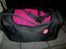 Tupper Reise Sport Tasche mit 2 gesonderten Fächern anthrazit pink