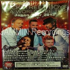 BACKSTREET BOYS - In A World Like This - Japan Tour 2013 - Japan 2 DVD Set - GMB