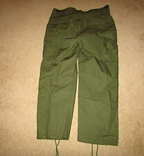 b8892m US Vietnam 3rd Pattern Rip stop Jungle Trousers Pants medium regular
