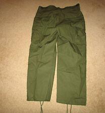 b8892L US Vietnam 3rd Pattern Rip Stop Jungle Trousers Pants Large regular W3E