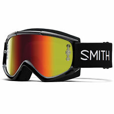 Smith Fuel V.1 Goggles - Black - Red Mirror Lens
