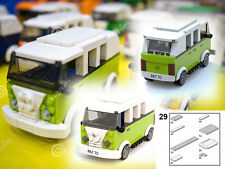 LEGO Volkswagen Combi minivan PDF only instructions custom 10220 40079 MOC