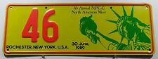 Nummernschild Australien N.P.C.C Treffensschild New York Rochester.10262