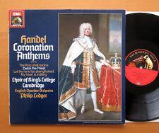 ASD 143445 1 Handel himnos DE CORONACIÓN Kings College Philip LEDGER casi nuevo/Excelente Digital