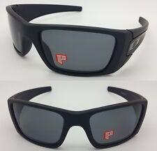 NEW AUTHENTIC Oakley Sunglasses Fuel Cell Matte Black Grey Polarized 9096-05