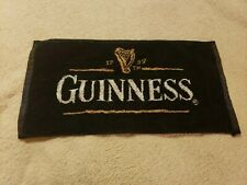 Guinness Bar Hand Towel. Man Cave Beer Towel.