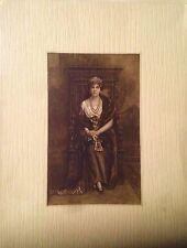 Retrato de la Reina Victoria Eugenia  de Battenberg,