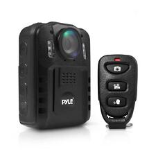 Pyle Compact Portable 1080p HD Infrared Night Vision Police Body Camera PPBCM9