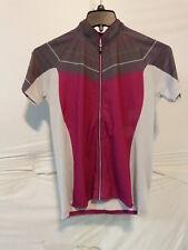 Louis Garneau River Run Cycling Jersey Women's Medium Candy Purple/Iron Gray