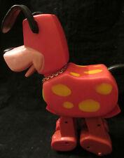 Vintage Cragstan Kennel Pup Friction Powered Orange Plastic Toy Puppy Dog