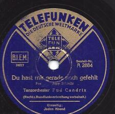 Fud Candrix 1939 ; Jeden Abend  + Du hast mir gerade noch gefehlt