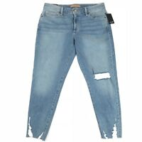 Joes Jeans Womens Boyfriend Slim Crop Distressed Raw-Hem Size 30x26