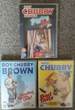 Roy Chubby Brown DVD X 3 Bad Taste Standing Room Only Giggling Lips Warning 18 +