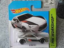 Hot wheels 2014 #227/250 scion fr-s silver hw workshop