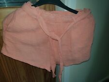 PEACH  SHORTS SIZE S  SIZE 8