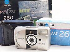 Minolta Vectis 260 camera Kit with original box and accessories U7195