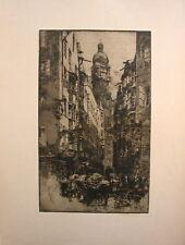 """Luigi Kasimir """"Innsbruck, Seilergasse  1922"""""""