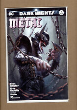 DARK NIGHTS METAL #5 DELL'OTTO COLOR VARIANT BATMAN WHO LAUGHS LIMITED 3000 NM