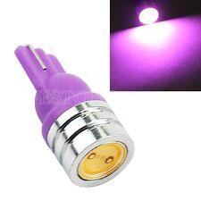 T10 168 194 501 W5W LED Wedge Super Bright Car Turn Signal Purple Light Bulb 12V
