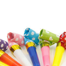 10x Party Blowouts Whistles Birthday Party Favors Decorazione Supplie