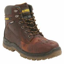 DeWalt Titanium Mens Brown Leather S3 WR Safety Steel Toe Lace Up Boots