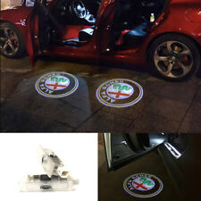 Led light Door Laser Projector Logo For Alfa Romeo Giulietta Mito Stelvio Giulia