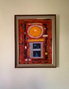 Seund Ja Rhee 李聖子 (1918–2009) French-Korean Oil Painting Signed