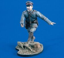 Verlinden 120mm 1/16 Leutnant German Army Officer 2d Lt WWI Running w/Luger 1975