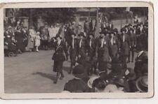 Girl Guides Parade Real Photo Postcard, B584