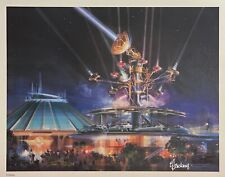 New ListingRare Disneyland Tomorrowland Art Litho Limited to Edition of only 300 Worldwide