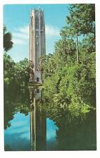 Vintage Florida Chrome Postcard Singing Tower Bok Lake Wales Mountain Sanctuary