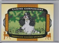 2017 Goodwin Champions American Cocker Spaniel Canine Companions Relic Cc2 Nm