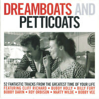 Various Artists / Dreamboats And Petticoats (2 CD) *NEW* CD