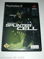 TOM CLANCY'S SPLINTER CELL PLAYSTATION 2 PS2 ACTION SPIEL